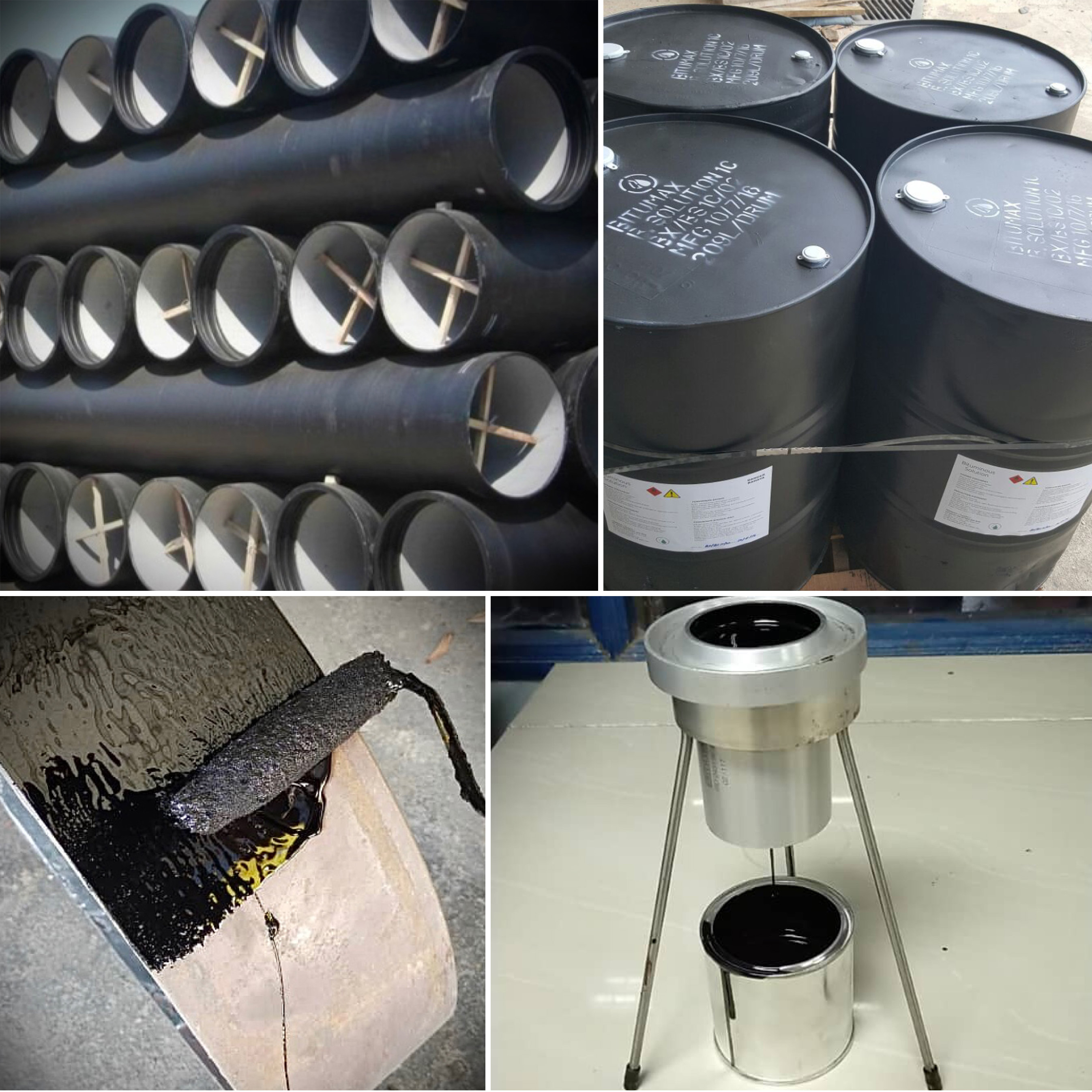 BITUMAX BITUMINOUS SOLUTION BS-1C for Ductile Iron Pipe coating